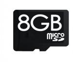 micro SD накопители 8 GB