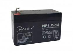 Аккумулятор 12 В 1.2 А*ч MATRIX