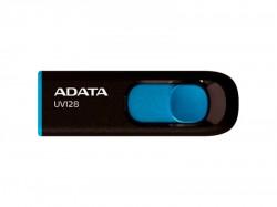 ADATA 64GB UV128 USB 3.1 Black-Blue