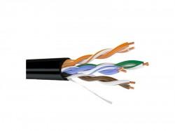 UTP кабель Саратов CAT-5E 4х2х0.52 уличный черный