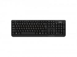 Клавиатура SVEN Comfort 2200, беспроводная, черная