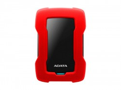 External HDD ADATA 2TB HD330 USB 3.2 Gen1 Red