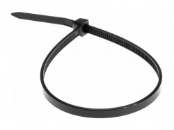 Стяжка нейлоновая REXANT 250х3.5 мм, черная 07-0251