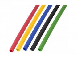 Термоусадочная трубка REXANT 4.0/2.0мм (набор 50шт. по 1 м, 5 цветов) 29-0154