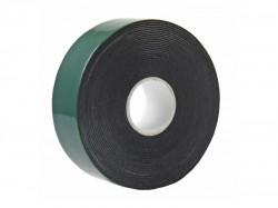 Двухсторонний скотч, черная вспененная ЭВА основа 25мм, ролик 5м,REXANT 09-6125