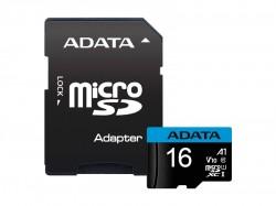 micro SDHC Card ADATA 16GB UHS-I Class 10 A1