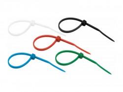 Стяжка нейлоновая REXANT 150х3,0 мм, цветная 07-0158-25