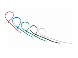 Стяжка нейлоновая REXANT 250х3,6мм, цветная 07-0258-25
