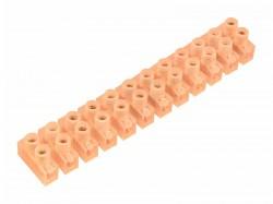 Колодка клеммная СМАРТКИП винтовая КВ-10 (4-10мм2), ток 10А 07-5010-5