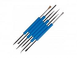 Набор монтажного инструмента для пайки REXANT (6 предметов) 12-6031