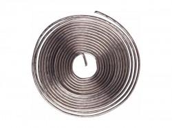 Припой с канифолью REXANT ПОС-61 d=0.8mm спираль 1м
