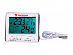 Термогигрометр комнатно-уличный REXANT 70-0515