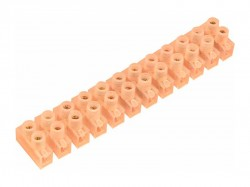 Колодка клеммная REXANT винтовая КВ-10 (4-10мм2), ток 10А 07-5010