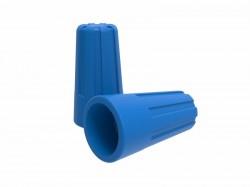 Зажим соединительный изолирующий REXANT СИЗ-2, d3.0mm (1.0-4.5mm2), синий, 07-5217