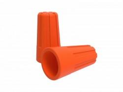 Зажим соединительный изолирующий REXANT СИЗ-3, d3.3mm (1.5-6.0mm2),оранжевый, 07-5218