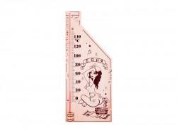 Термометр для сауны REXANT 70-0507, основание-дерево, 110х265мм