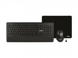 Клавиатура+мышь+коврик SVEN KB-C3800W черный