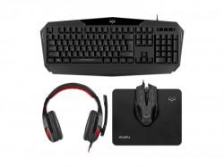Клавиатура+мышь+коврик+наушники SVEN GS-4300 черный