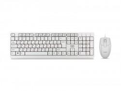 Клавиатура+мышь SVEN KB-S330C белый