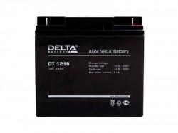 Аккумулятор Delta DT 1218 12В 18А*ч