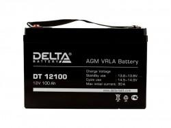 Аккумулятор Delta DT 12100 12В 100А*ч