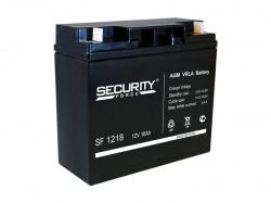 Аккумулятор Security Force SF 1218 12В 18А*ч