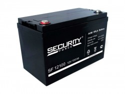 Аккумулятор Security Force SF 12100 12В 100А*ч