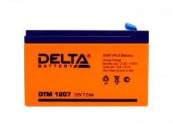 Аккумулятор Delta DTM 1207 12В 7А*ч