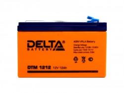 Аккумулятор Delta DTM 1212 12V 12Ah