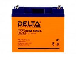 Аккумулятор Delta DTM 1240L 12V 40Ah
