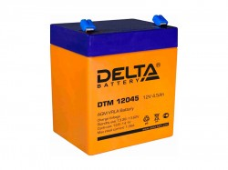 Аккумулятор Delta DTM 12045 12V 4.5Ah