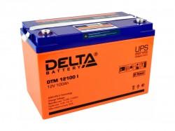 Аккумулятор Delta DTM 12100 I 12V 100Ah