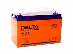 Аккумулятор Delta HR 12-100 12V 100Ah
