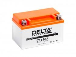 Аккумулятор Стартерный Delta CT 1207 12V 7Ah