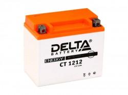 Аккумулятор Стартерный Delta CT 1212 12V 12Ah