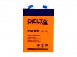 Аккумулятор Delta DTM 6045 6В 4.5А*ч