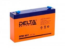 Аккумулятор Delta DTM 607 6В 7А*ч