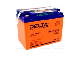 Аккумулятор Delta DTM 1255 I 12V 55Ah