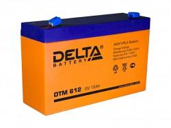 Аккумулятор Delta DTM612