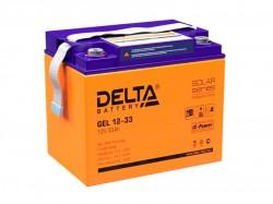 Аккумулятор Delta GEL 1233