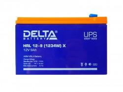 Аккумулятор Delta HRL 12-9 X 12V 9Ah