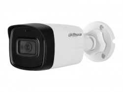 HDCVI камера Dahua DH-HAC-HFW1400TLP-A-0280B-S2 (4MP/2.8mm/0.03 Lux/IR80m, Audio)