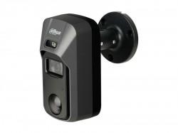 HDCVI камера Dahua DH-HAC-ME1500CP plastic+metal (5MP/2.8mm/0.02 Lux/IR20m,IP67/PIR, сирена и строб)
