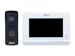 Аналоговый видеодомофон Dahua DHI-VTK-VTO2010D-VTH2020DW