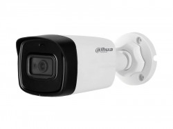 HDCVI камера Dahua DH-HAC-HFW1801TLP-A-0360B  metal+plastic (8MP/4K/3,6mm/WDR120dB/IR80m/IP67)