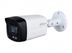 HDCVI камера Dahua DH-HAC-HFW1239TLMP-A-LED-0360B metal+plastic Full-color Starlight (2MP/3,6mm/IR 40m/Audio, IP67)