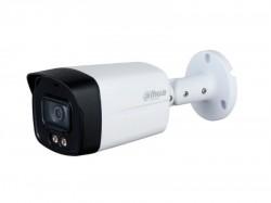 HDCVI камера Dahua DH-HAC-HFW1239TLMP-A-LED-0280B-S2 Full-color Starlight (2MP/2.8mm/Audio/LED40m/IP67/Metal+Plastic)