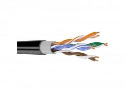 "FTP кабель ""Саратов"" CAT-5E 4х2х0.52 уличный черный"